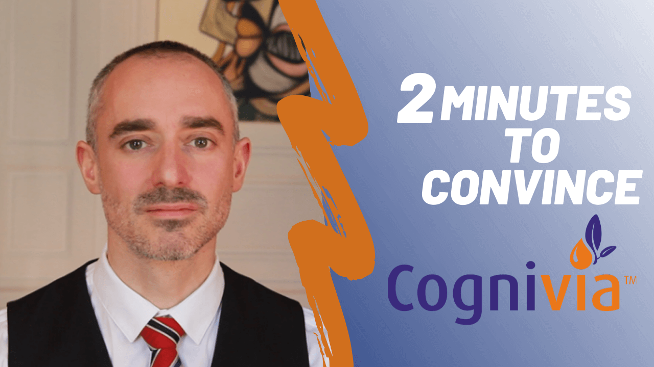 2 minutes to convince Cognivia