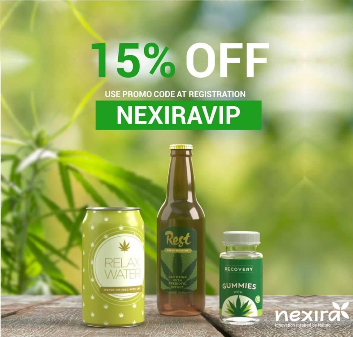 CPX21 Nexira discount code